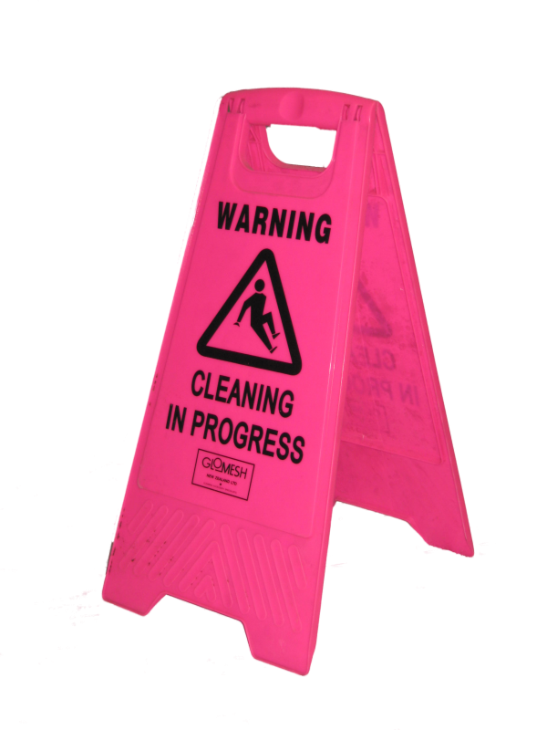 cleaning in progress sign-01