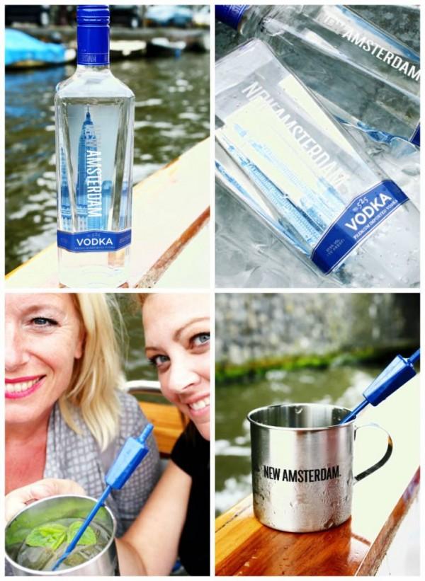 Zachte vodka van New Amsterdam