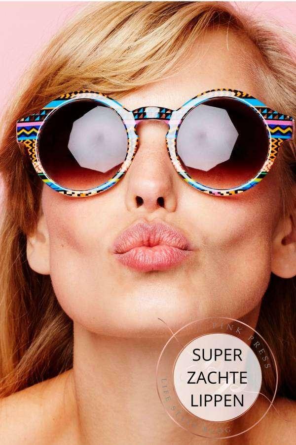 super zachte lippen met lippenbalm
