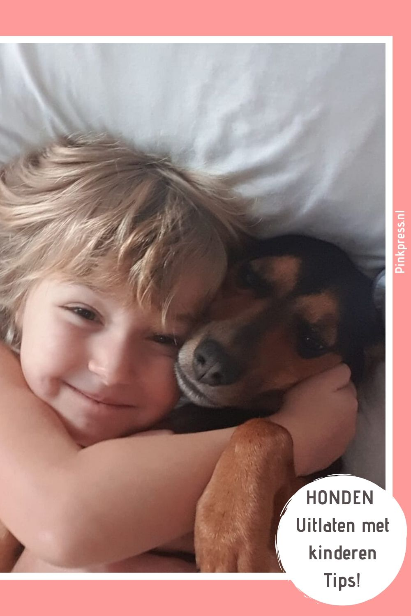 5 tips honden uitlaten met kinderen