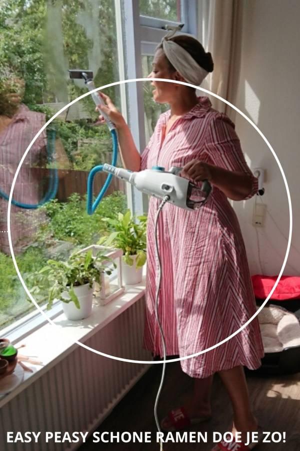 lekker makkelijk schone ramen met stoom