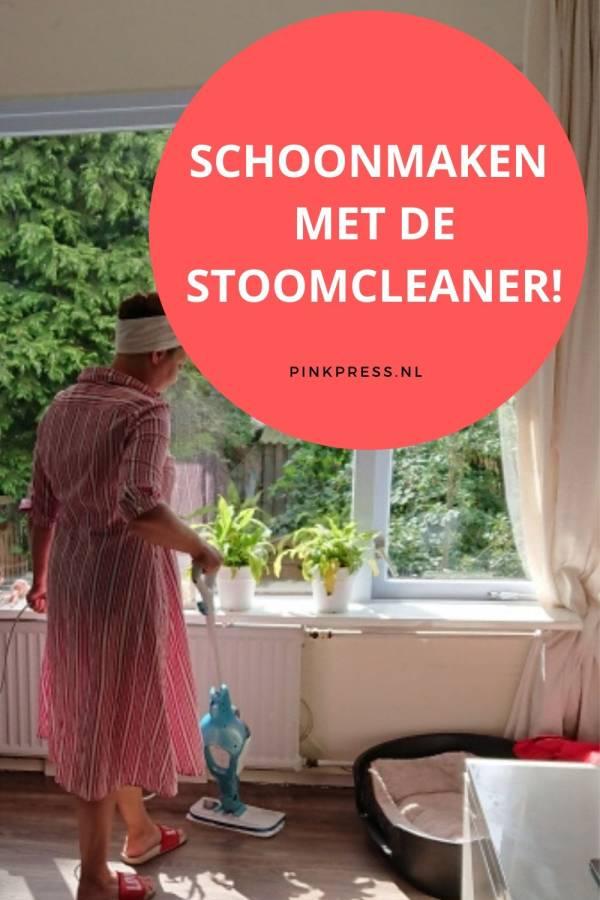 schoonmaken met stoom