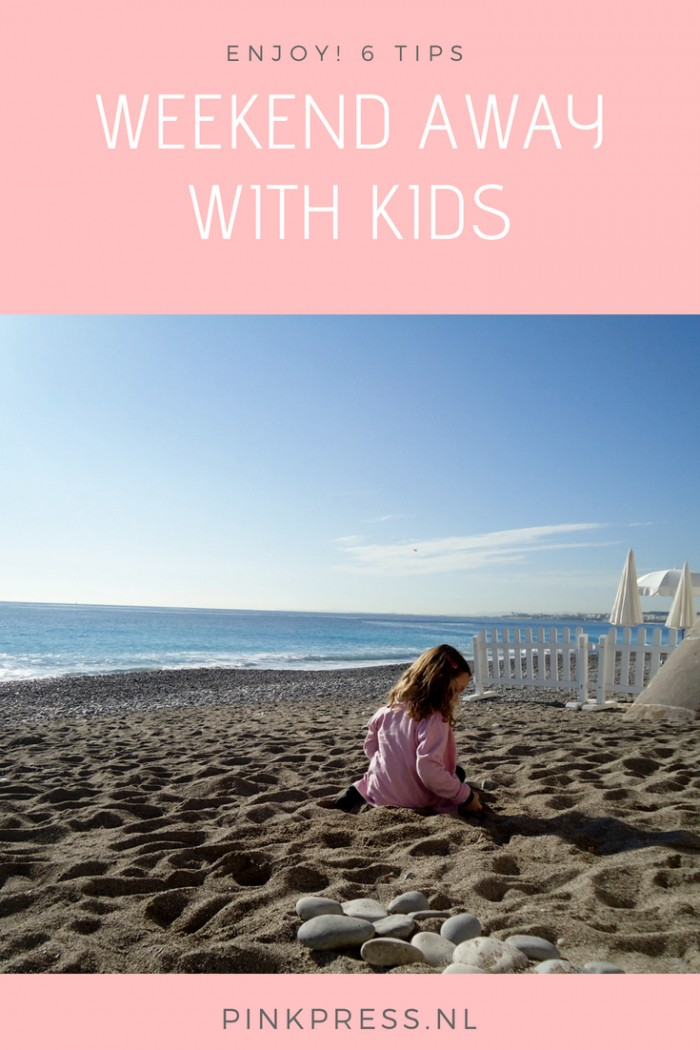 6 tips for a weekend away with kids - travel - children