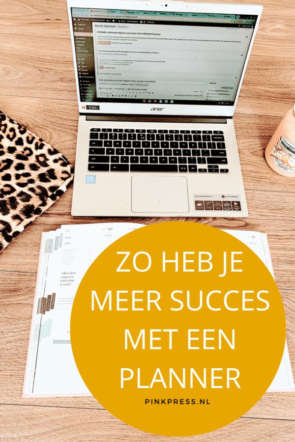 Hoe een planner je kan helpen meer succes te bereiken