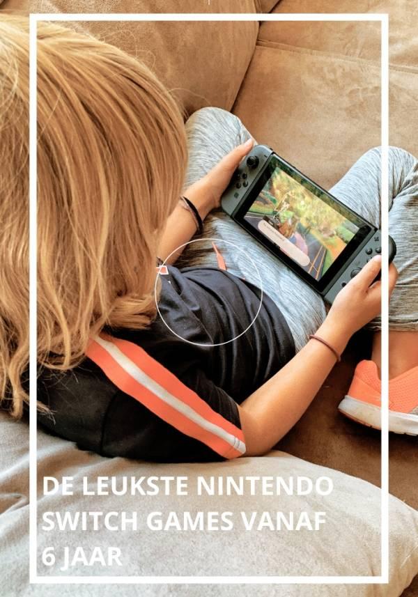 de leukste nintendo switch games vanaf 6 jaar