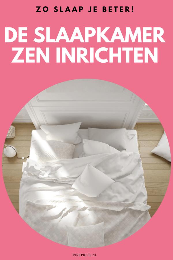 De slaapkamer zen inrichten