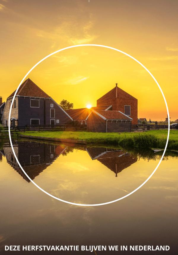De herfstvakantie van 2020 blijven we in Nederland