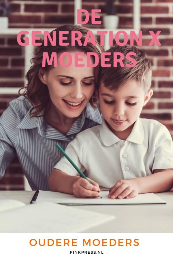 Generatie X moeders