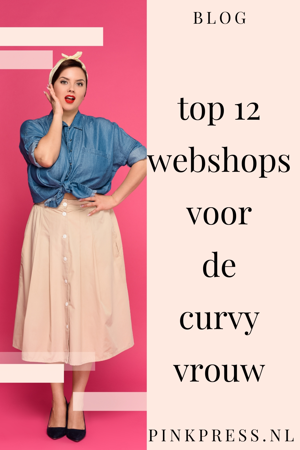 Top 12 webshops voor de curvy vrouw