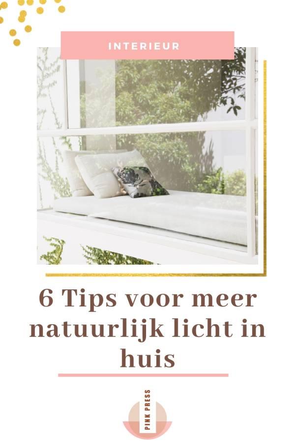 6 Tips voor meer licht in huis