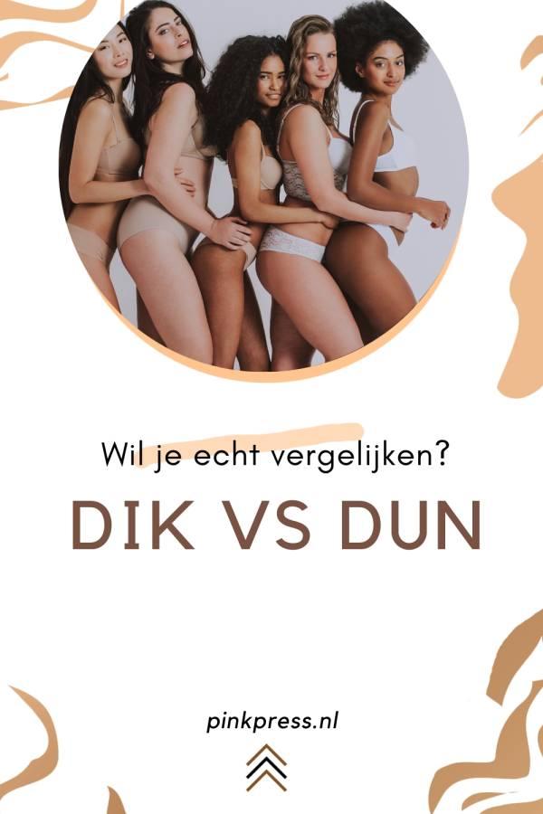 dikke vrouwen vs dunne vrouwen