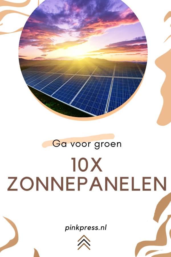 10x voordelen van zonnepanelen
