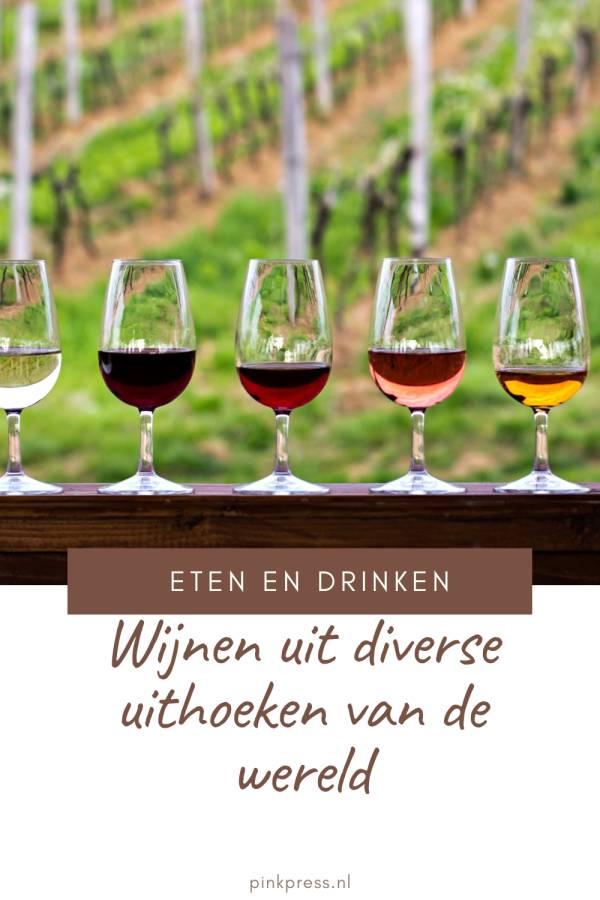 Wijnen uit diverse uithoeken van de wereld