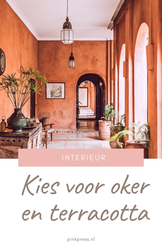 Oker en Terracotta interieur kleuren: inspiratie