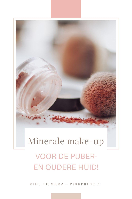 Minerale make-up voor de puber en oudere huid!