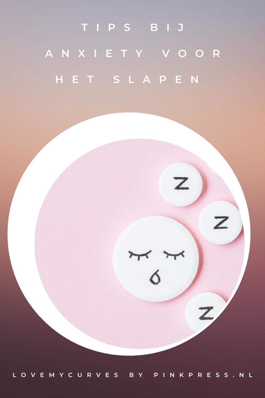 tips bij anxiety voor het slapen