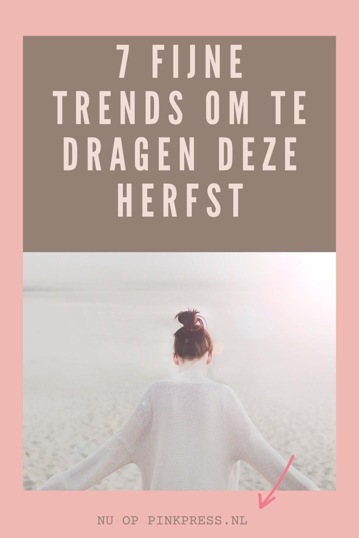 trends deze herfst