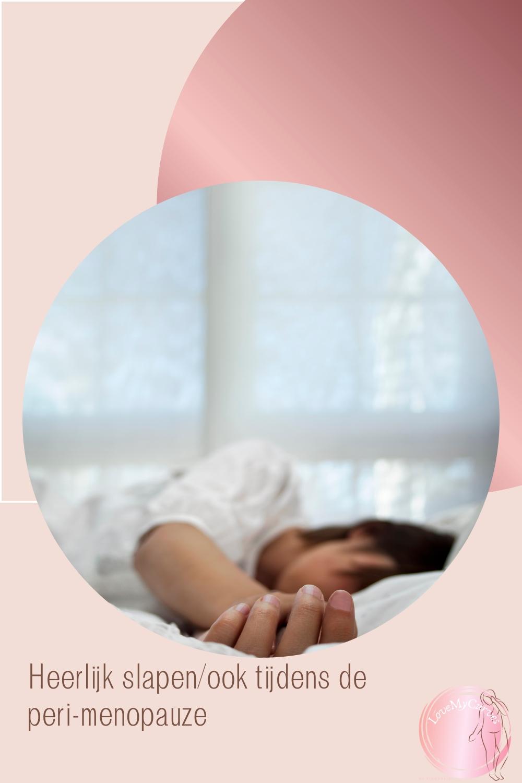 beter slapen overgang