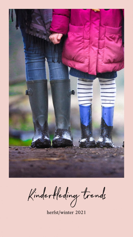 Kinderkleding trends herfst - winter 2021